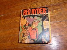 vintage BIG LITTLE BOOK: RED RYDER AND THE OUTLAW OF PAINTED VALLEY, good+