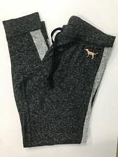Victoria's Secret PINK Soft Cozy Jogger Sleep/Lounge Pants: L Heather Black/Gray