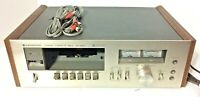 VTG Kenwood KX-620 Stereo Cassette Player/Recorder - AS IS - For Parts or Repair