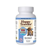 Ark Naturals Happy Traveler 30 Capsules | Natural Calming for Dogs and Cats