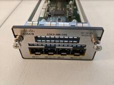 Cisco Catalyst C3KX-NM-10G Network Module for 3750-X 3560-X Good condition