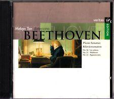 Beethoven: Piano Sonatas, Melvyn Tan Fortepiano CD -1994 (Nos. 21,23,26)