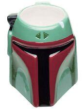 Star Wars: Bobba Fett Bounty Hunter Sculpted Ceramic Coffee Mug Zak Designs Cup
