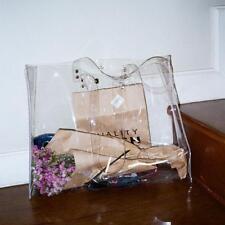 Women's Large Shopping Bag Tote Transparent Clear Shoulder Bag Handbag Beach New