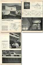 1961 Hot Spring Museum At Hokkaido Japan Design, Plans