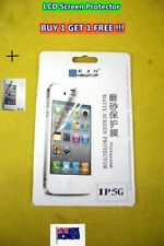 NEW iPhone LCD Screen Cover Protector with Cleaning Cloth - BUY 1 GET 1 FREE