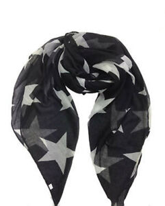 ELSA & ANNA® Viscose Star Print Lady Scarf Wrap Shaw Stole Maxi Hijab SCF16