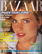 Harper's Bazaar June 1985 Way Bandy - Grace Jones - David Bailey - Art Kane
