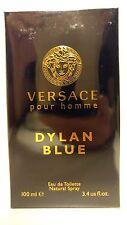 Versace Pour Homme Dylan Blue Eau De Toilette 3.4oz / 100ml