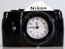 NIKON CAMERA CLOCK VINTAGE 1983