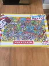 WHERE'S WALLY WILD WILD WEST 1000 PIECE PUZZLE - PAUL LAMOND GAMES 2012 - NEW