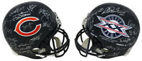 1985 Chicago Bears Team Signed Bears & SB XX Champs Rep Helmet (28 Sigs)- SS COA