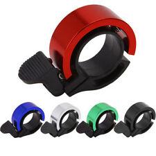 Invisible Bicycle Bell Bike Handlebar Alarm Loud Horn For 22.2-24mm Bike Bar Red