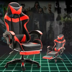 Wcg Gaming Chair PVC Household Armchair Ergonomic Computer Chair Office Chairs