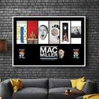 MC MILLER Album Cover Collection Paper Posters or Canvas Framed Wall Art