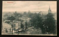 1906 Singapore Strait Settlements Malaya RPPC Postcard Cover To Paris France