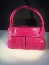 Pink Crocodile Nancy Gonzalez Linda Bag