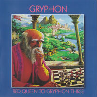 Gryphon Red Queen To Gryphon Three (2016) Reissue 4-track CD album NEW/SEALED