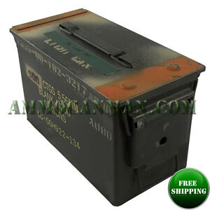 10 Pack 50 Cal ammo cans - Grade 2