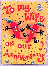 Funny Humorous Wife Anniversary card, im Still Hot For You Wife Anniversary Card