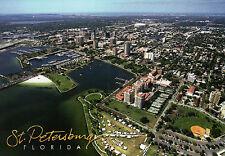 Aerial View of St. Petersburg, Florida, Tampa Bay Area, FL - Nice 5 x 7 Postcard