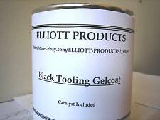 Black Tooling Gelcoat plus Mekp Catalyst, and Surfacing Wax,1 gallon