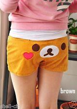 NEW San-X Rilakkuma Cute Lounge Pant Soft Sleep Shorts Sleepware Bottom