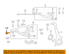 TOYOTA OEM Front Suspension-Lower Control Arm Nut 90178A0001