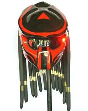 Fancy Helmet Predator PD 12 motorcycle Size M - L Red line stripes