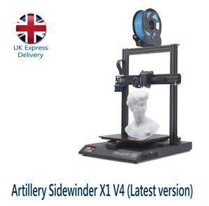 Artillery Sidewinder X1 3D Printer Version 4 (Latest version)