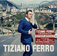 TIZIANO FERRO IL MESTIERE DELLA VITA BOX LIMITED CD + LP + MUSICASSETTA + FOTO