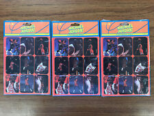 Lot Of 3 Michael Jordan Vintage Cleo 36 Stickers Mint Sealed Made In The Usa
