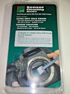 Just Cameraclean Minikit, 5 x 24mm Swabs for Full Frame DSLR sensors