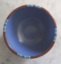 """Dansk Mesa Sky Blue Fruit Cereal Dessert Bowl 5 1/8"""" Portugal"""