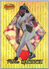 1999 Bowman's Best Atomic Refractor #53 Pedro Martinez 012/100 - Red Sox