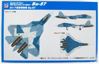 Pit-Road Skywave SN-21 Russian Air Force Jet Fighter Su-57 1/144 Scale Kit