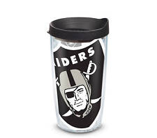 Oakland Raiders Tervis Travel Tumbler 16 ounce