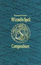 Wizard's Spell Compendium, Vol. 4 Advanced Dungeons & Dragons