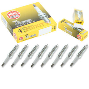 NGK G-POWER SPARK PLUGS FOR 1990-2001 INFINITI Q45 VH45DE 4.5L VH41DE 4.1L V8