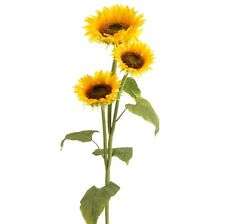 Sunflower Stem 3 flowers Artificial 30in f3510305 NEW RAZ