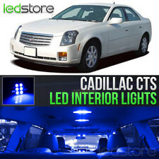 2003-2007 Cadillac CTS Blue LED Lights Interior Kit
