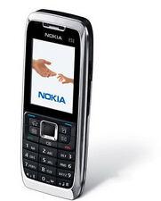 Nokia E51 3G Mobile Phone silver black WLAN GPRS Bluetooth Free shipping