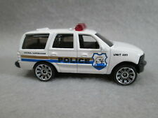 Ford Expedition Police Patrol Supervisor Unit #489 New 1/68 Matchbox