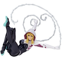 Marvel Revoltech No.004 Gwen Stacy Spider Gwen Action Figure Kaiyodo Version Toy