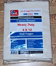 Canvas Drop Cloth / Runner / 4 X 12 / Professional Series / Heavy Duty / 10 Oz.