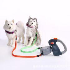 Dog Leash Dual Pet Dog Retractable Walking Leash Pet Products Pet Supplies