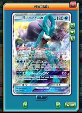 x1 Suicune GX 60/214 Lost Thunder Pokemon Online - DIGITAL CARD