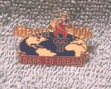 1996 Atlanta Dare To Dream Olympic Torch Pin