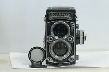 Rolleiflex 2.8 E-II Planar with Cap and Meter TLR Film Camera