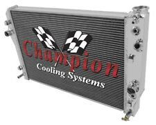 98 99 Pontiac Firebird / Trans Am Champion 3 Row Aluminum Radiator CC2365